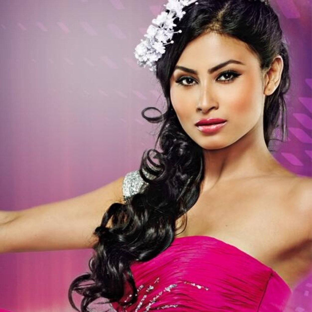 Mouni Roy Popular Hairstyles