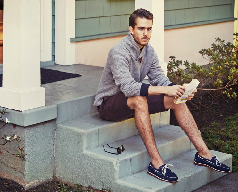 check out the right shoes to wear with shorts