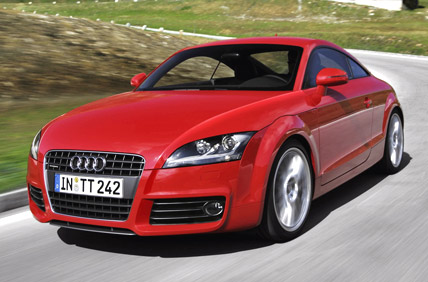 GERMAN LUXURY COMPANY LAUNCHED SPORT CAR TT IN INDIAN MARKET - Audit car